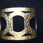 Bracelet métal martelé